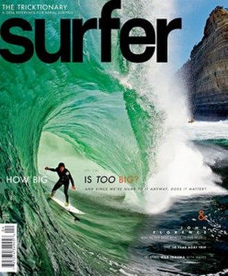 Surfer (magazine) - Surfer Magazine Cover April, 2011