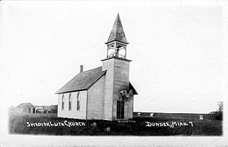 Dundee, Minnesota - Swedish Lutheran Church - Dundee, Minnesota