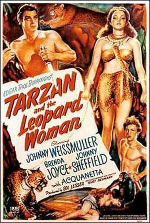 Tarzan and the Leopard Woman - Theatrical release poster