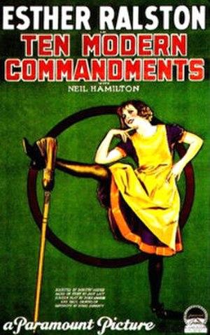 Ten Modern Commandments - Image: Ten Modern Commandments (film)