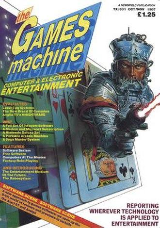 The Games Machine - Image: Tgm 1oct nov 87