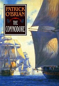 Cover by Geoff Hunt for The Commodore.