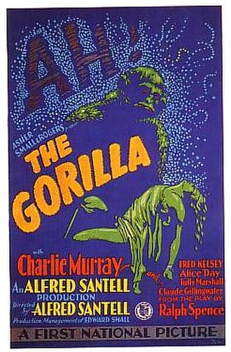 The Gorilla (1927 film) - Image: The Gorilla 1927