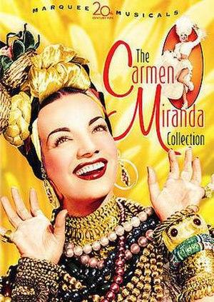 The Carmen Miranda Collection - DVD cover