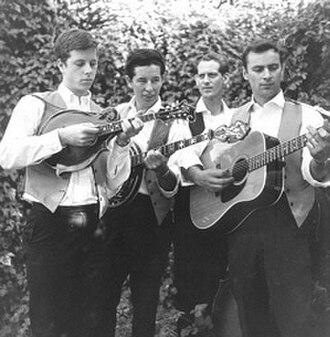 The Hillmen - The Hillmen (from left to right): Chris Hillman, Don Parmley, Rex Gosdin, and Vern Gosdin.