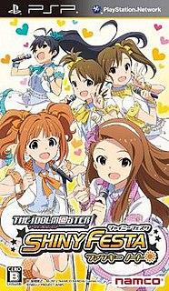 <i>The Idolmaster Shiny Festa</i> 2012 rhythm game by Namco Bandai Games