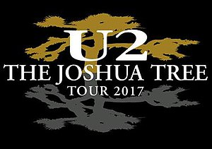 The Joshua Tree Tour 2017 - Image: The Joshua Tree Tour 2017 logo