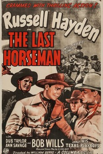 The Last Horseman - Image: The Last Horseman