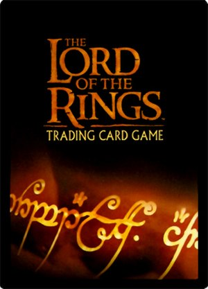 The Lord of the Rings Trading Card Game - Card back for The Lord of the Rings Trading Card Game