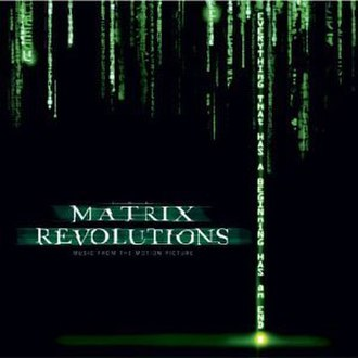 The Matrix Revolutions: Music from the Motion Picture - Image: The Matrix Revolutions Music From The Motion Picture