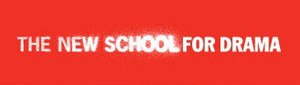 School of Drama (The New School) - The earlier logo as The New School for Drama