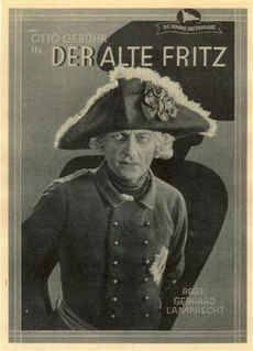 <i>The Old Fritz</i> 1928 silent film directed by Gerhard Lamprecht