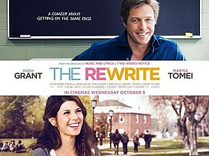 The Rewrite - British release poster