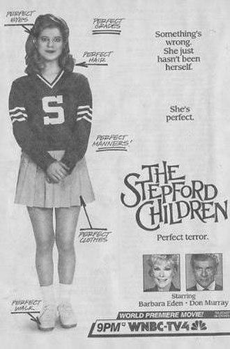 The Stepford Children - Original print ad for the TV broadcast