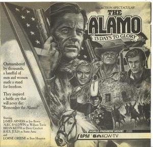 The Alamo: 13 Days to Glory - Print advertisement