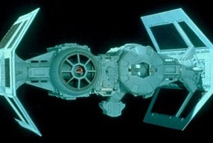 TIE fighter - A TIE bomber