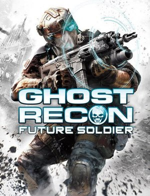 Tom Clancy's Ghost Recon: Future Soldier - Image: Tom Clancy Ghost Recon Future Soldier Game Cover