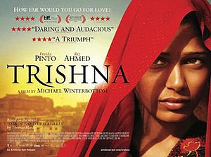 Trishna (2011 film) - Official release poster of Trishna