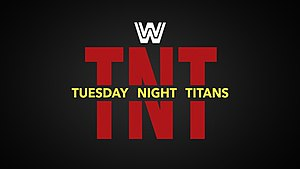 Tuesday Night Titans - The logo used by WWE Network