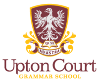 The school's logo from 2013