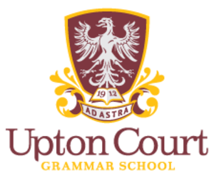 Upton Court Grammar School -  The school's logo from 2013
