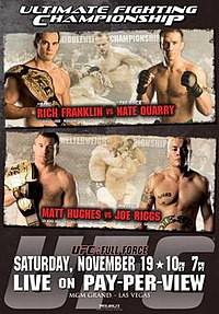A poster or logo for UFC 56: Full Force.