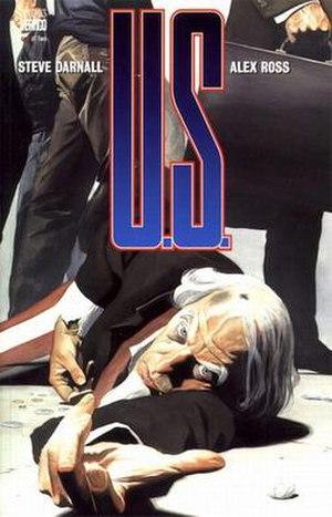 Uncle Sam (Vertigo) - Cover of the first issue