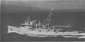 ARA Suboficial Castillo (A-6) - The fleet tug Takelma (ATF-113) off Oahu early in 1967. (KN 14013)