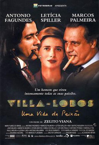 Villa-Lobos: A Life of Passion - Theatrical release poster