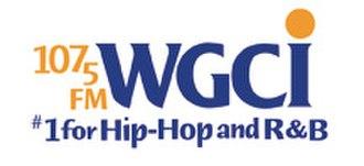 WGCI-FM - Previous logo used until September 2014