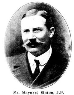 Maynard Sinton British businessman