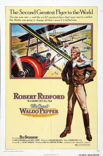The Great Waldo Pepper - Theatrical release poster by Gary Meyer