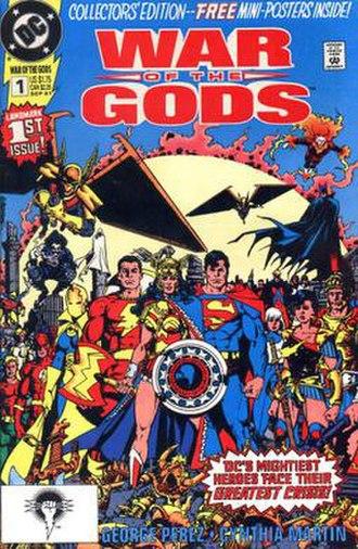 War of the Gods (comics) - Image: War Of The Gods