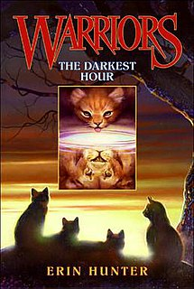 <i>The Darkest Hour</i> (novel) book by Erin Hunter