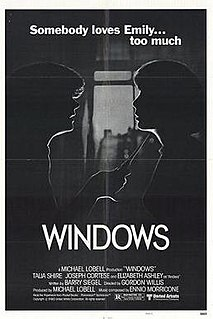 <i>Windows</i> (film) 1980 film by Gordon Willis