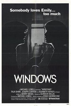 Windows (film) - Theatrical release poster
