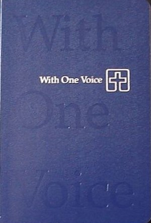 Lutheran Book of Worship - Image: With One Voice