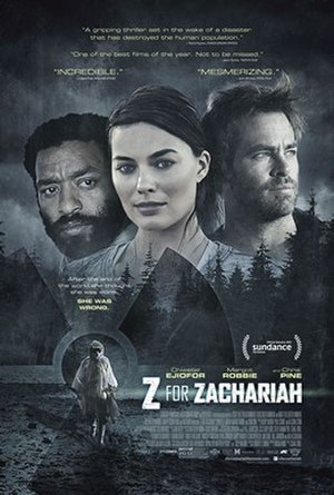 Z for Zachariah (film) - Theatrical release poster