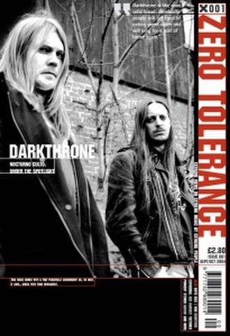 Zero Tolerance (magazine) - Image: Zero Tolerance magazine (first issue cover)