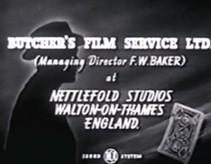Butcher's Film Service - Opening credits, Send for Paul Temple (1946)