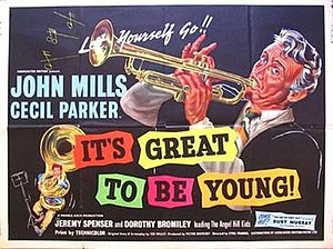 "It's Great to Be Young (1956 film) - Image: ""It's Great to Be Young"" (1956 film)"