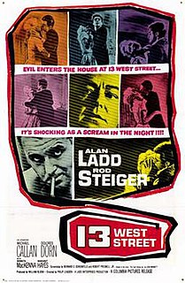 <i>13 West Street</i> 1962 film by Philip Leacock