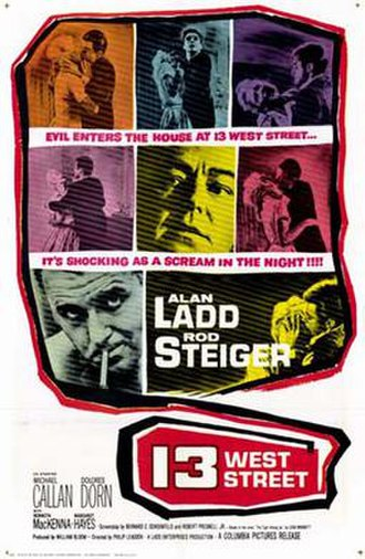13 West Street - Theatrical poster