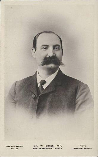 William Brace - William Brace MP, 1906