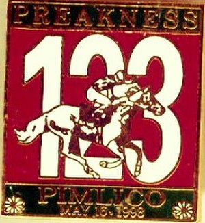 1998 Preakness Stakes - Image: 1998 Preakness Logo