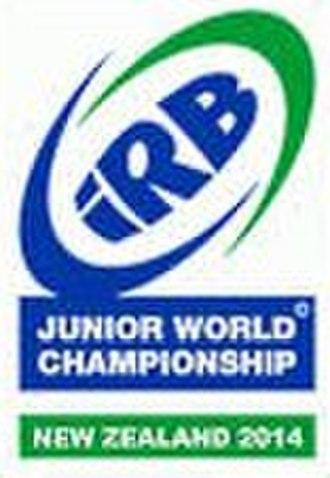 2014 IRB Junior World Championship - Image: 2014 JWC logo