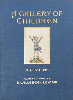 A Gallery of Children - Cover of the first edition