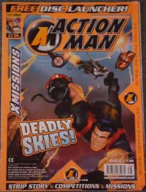Action Man (comics) - Image: Action Man Final Issue