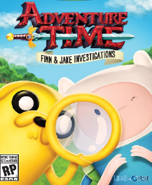 Adventure Time: Finn & Jake Investigations - North American boxart