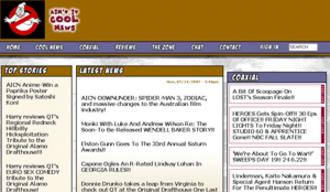 Ain't It Cool News - Image: Aintitcool.com screenshot